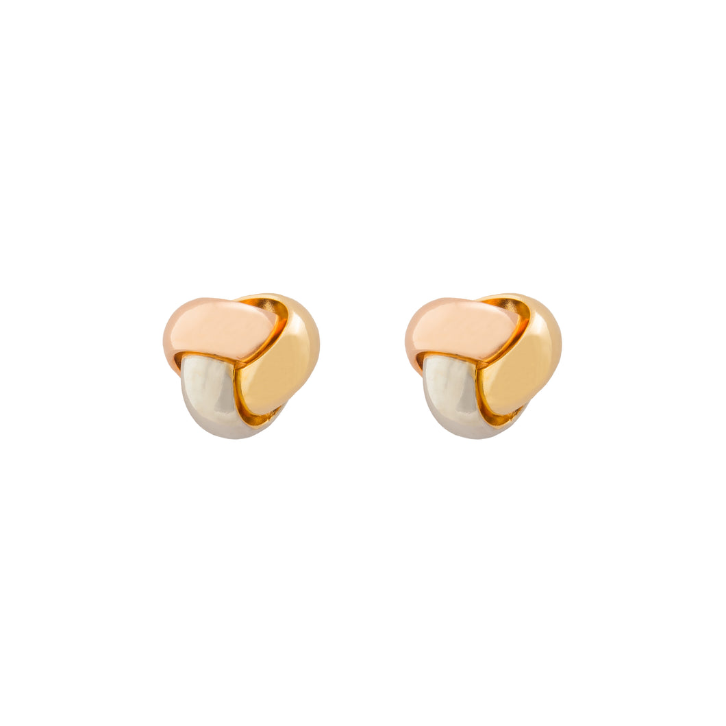 Holly gold earrings