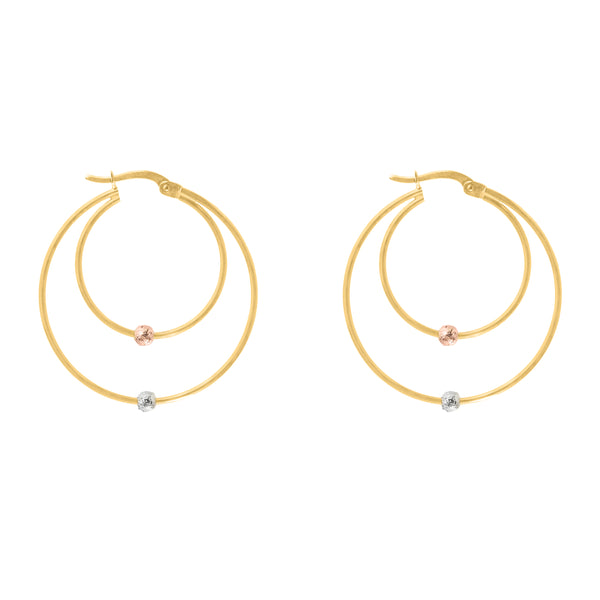 Skyler gold earrings