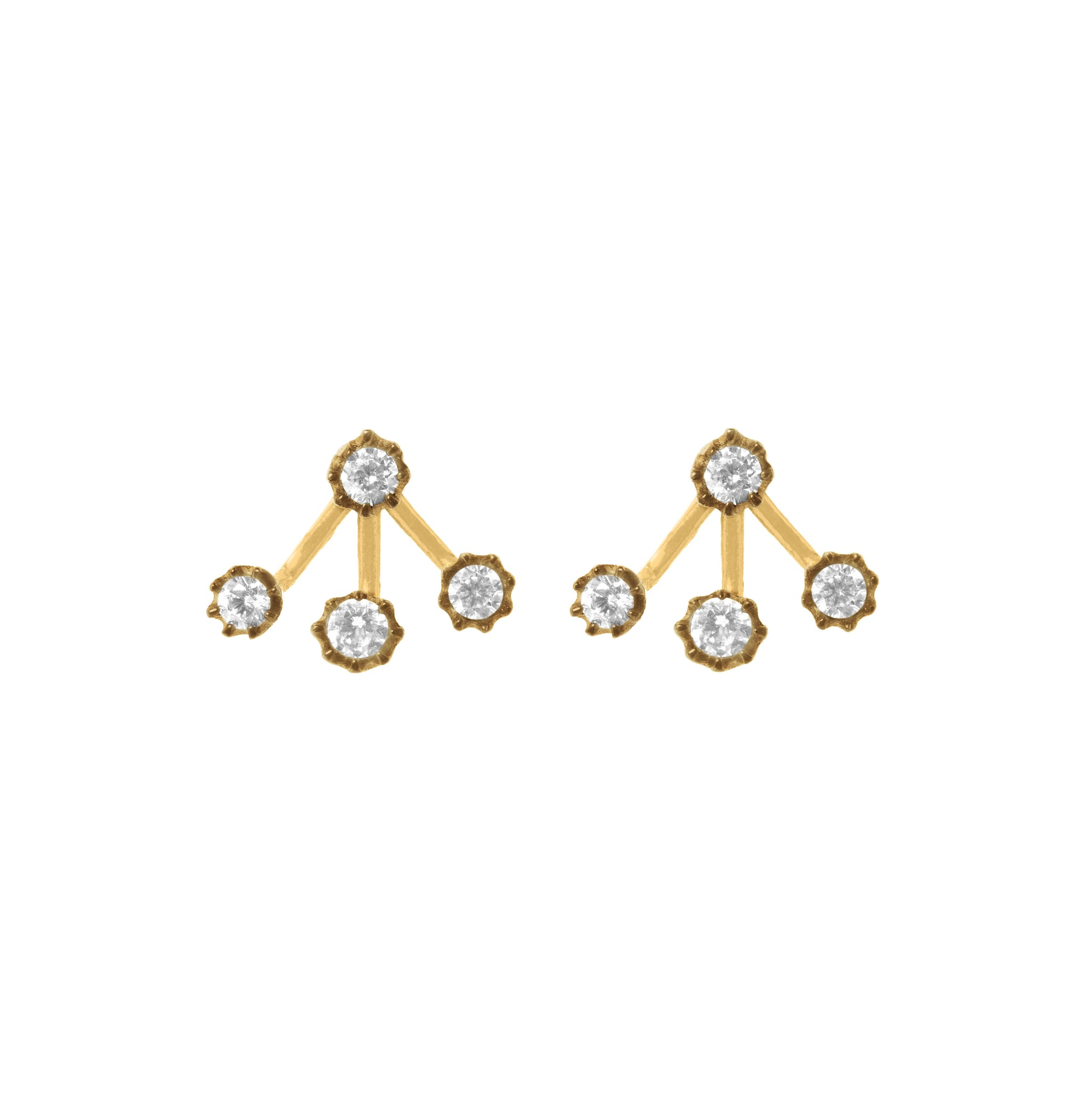 Olivia gold earrings