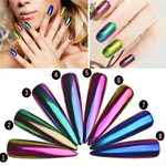 BUY 2 GET 1 FREE-Magic Mirror Effect Chameleon Nail Powder(4 pcs/set)