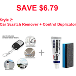 Wireless Remote Control Duplicator-Home & Garden-airvog.com-Style 2: Car Scratch Remover + Control Duplicator(SAVE $6.79)-airvog
