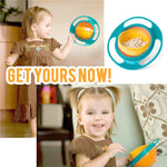 Kids 360 Rotate Spill-Proof Bowl