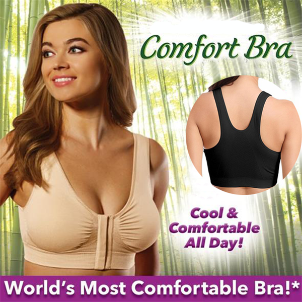 70% OFF-Magic Zip Comfort Bra(3 PCS/SET)-Clothes & Accessories-airvog.com-BLACK(3 PCS)-S-airvog