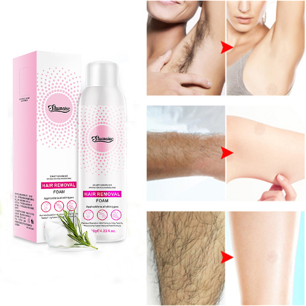 Natural Painless Permanent Thick Hair Removal Spray