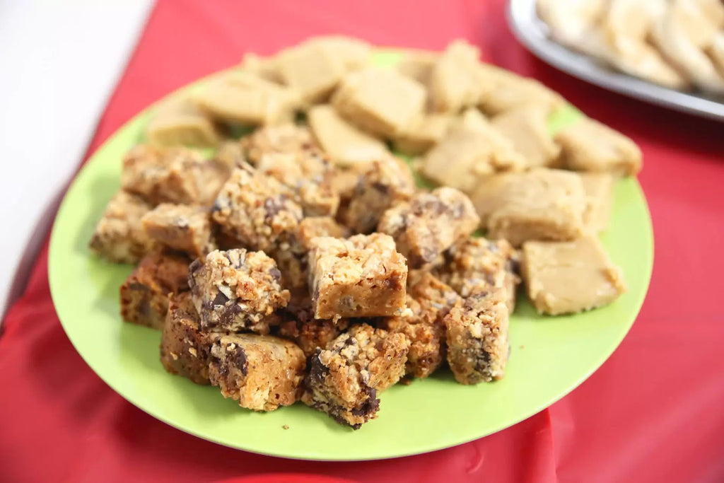 NUTS SQUARES – CECILE'S COMFORTING RECIPE!