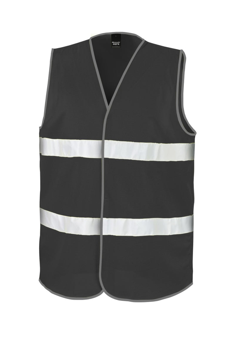 Enhanced Visibility Vest - Black
