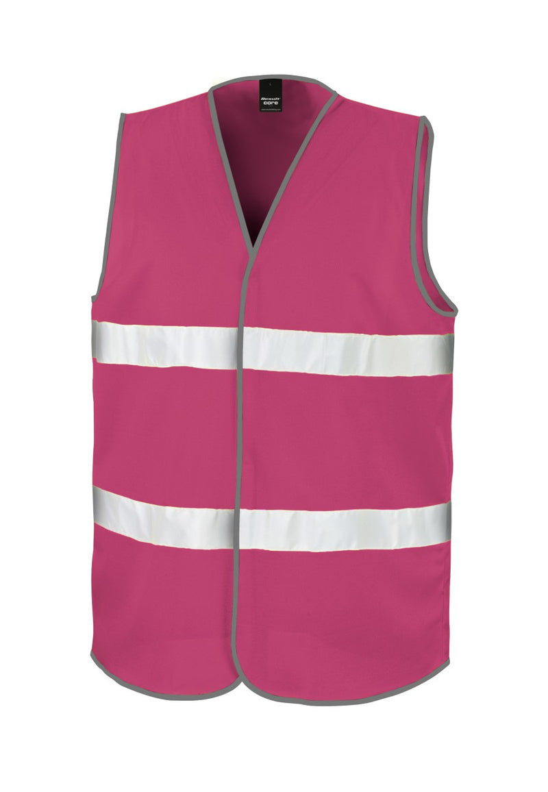 Raspberry Enhanced Visibility Vest