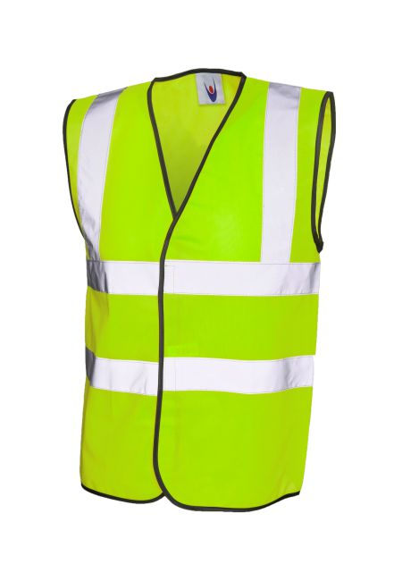 High Visibility Vest - Yellow