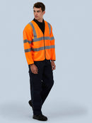 Uneek UC802 - Long Sleeve Safety Waist Coat