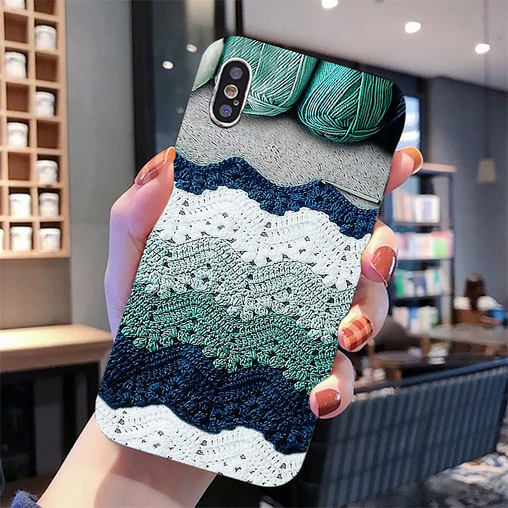 Colorful Crochet And Knitting Phone Case 2