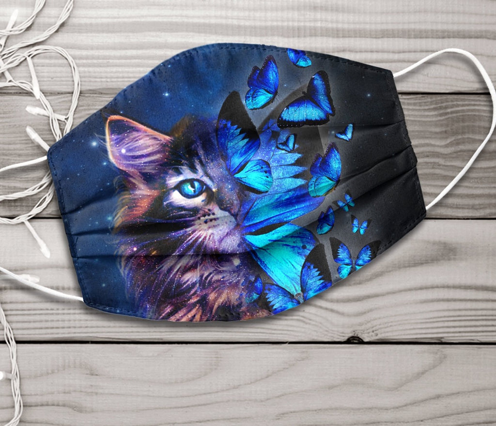 Cat charming Face mask 7