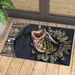 Fishing Unique Design 2 Doormat