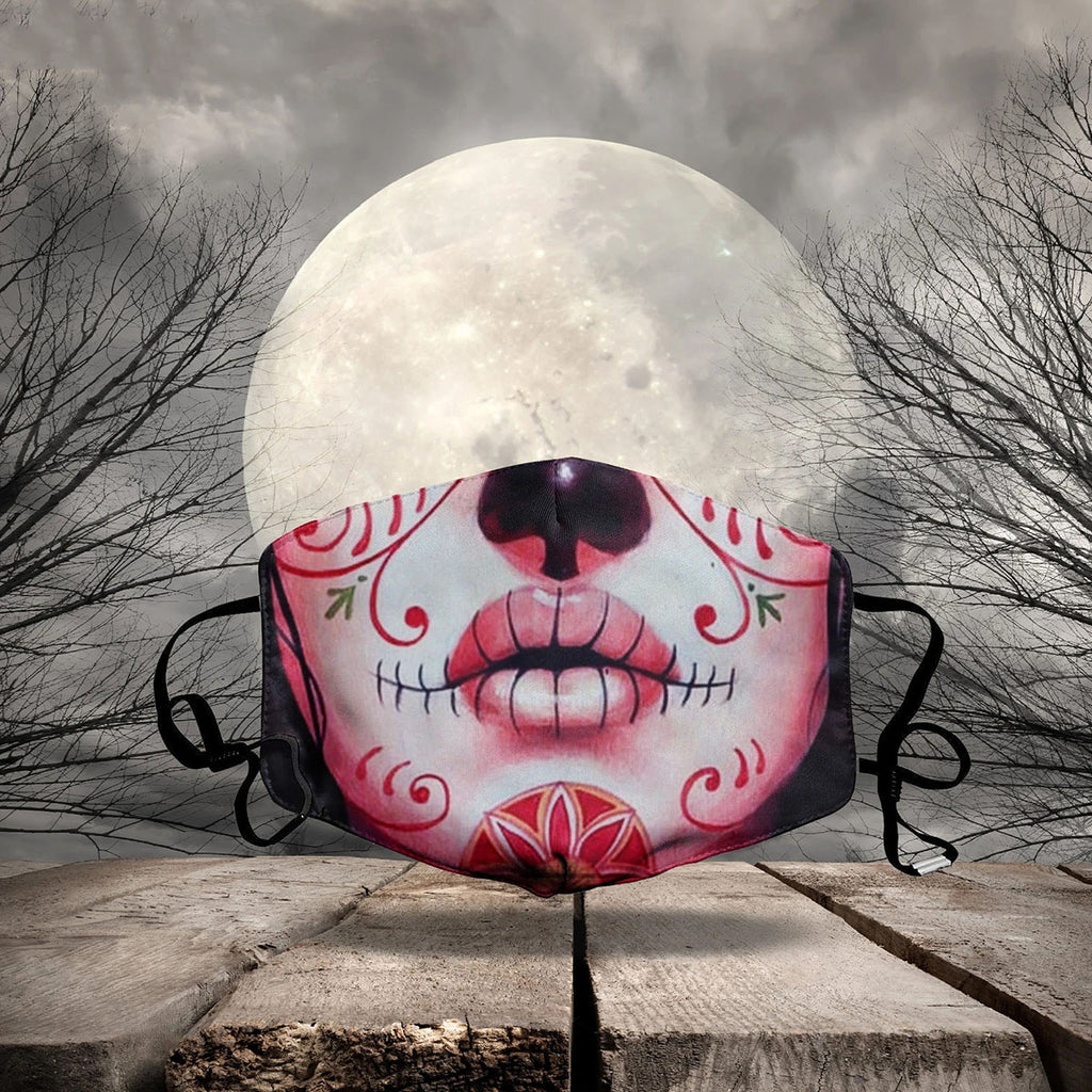 HALLOWEEN FABRIC FACE COVER AZS0006