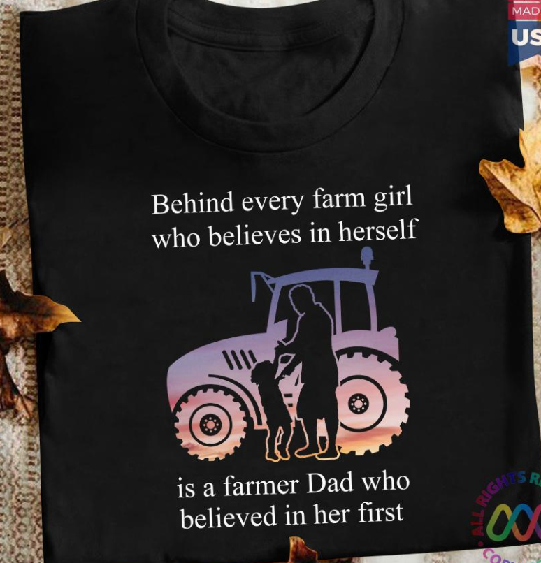 Farm girl who believes in herself TShirt