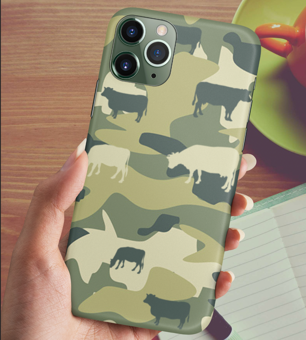 Cow Camo Phone Case