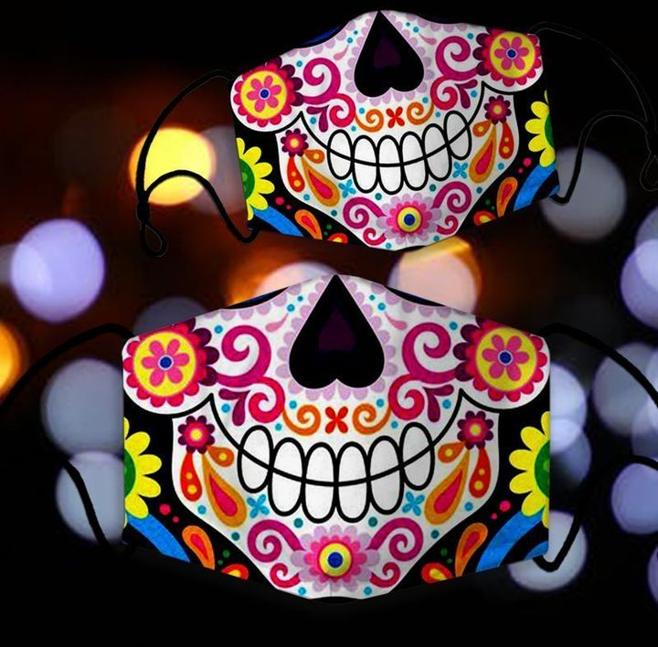 Colorful Skull Mask 45