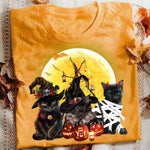 Cat Halloween Charming T-Shirt 8