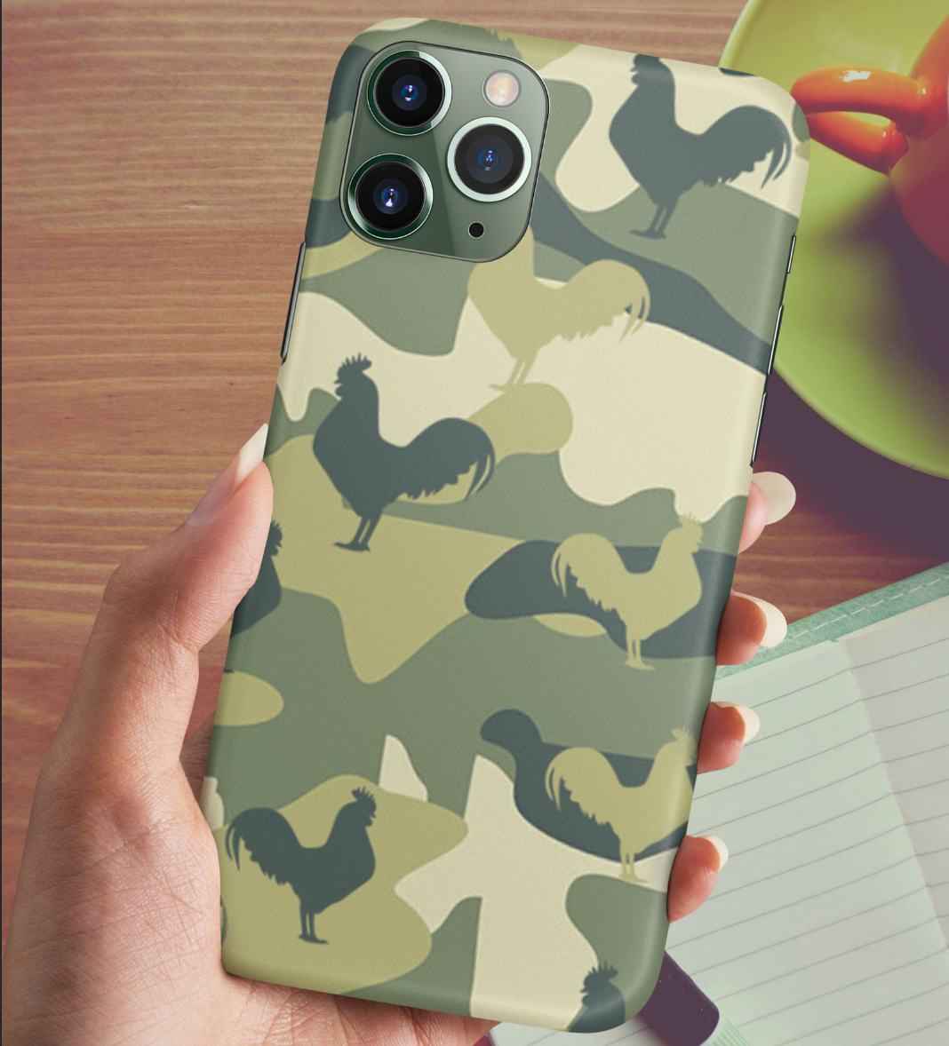 Chicken Camo Phone case