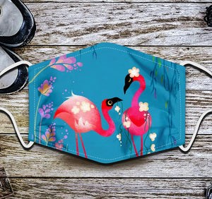 Flamingo Face Mask 2