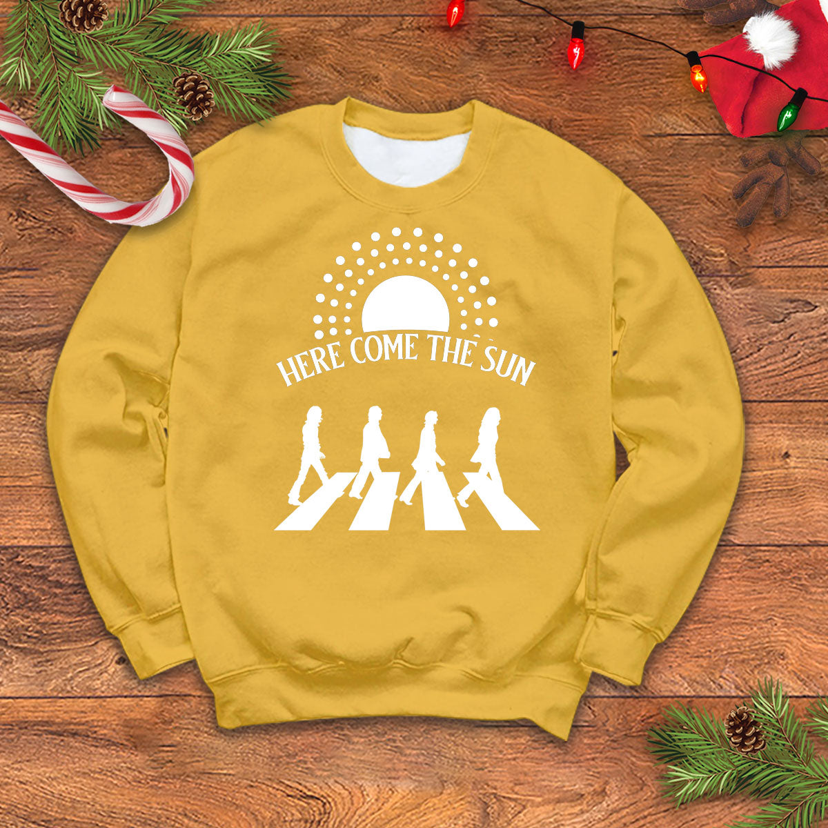 Here Come The Sun Sweater