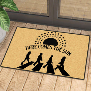 Here Comes The Sun Indoor Mat
