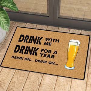 Drink on beer mat