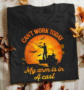 Fishing Can't Work Today Classic T-Shirt