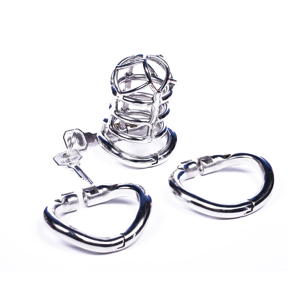 Not Getting Off Metal Chastity Device 3.27 inches long