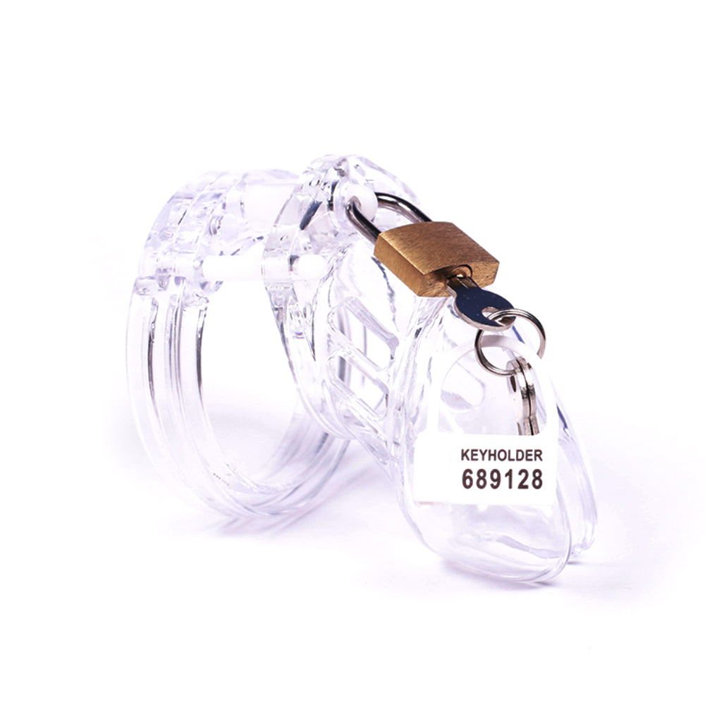 In Plain Sight Male Chastity Device 3.15 inches long