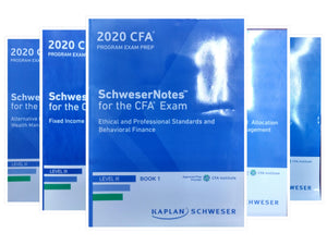 2020 CFA Level 3 Kaplan schweser Study Material (5 Syllabus book)