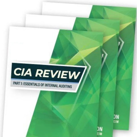 2019 CIA Review books : Part 1 to 3
