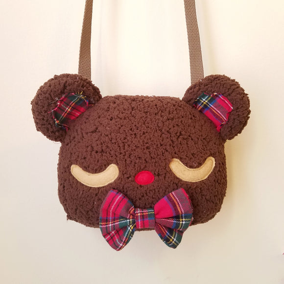 Teddy Bear Purse - Brown Bear Novelty Purse, Lolita Purse