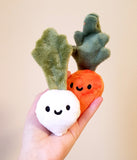 Baby Carrot Mini Miniature Stuffed Plush Toy