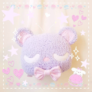 Kawaii Teddy Bear Plush Purse - Pastel Bear Kawaii Plush Purse