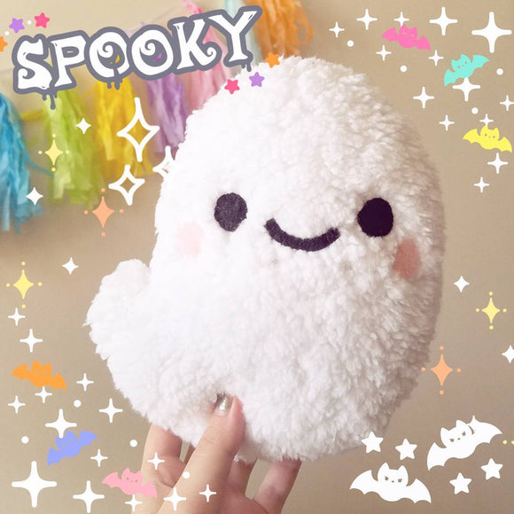 Cute Marshmallow Ghost Plush - Cute Halloween Ghost Toy