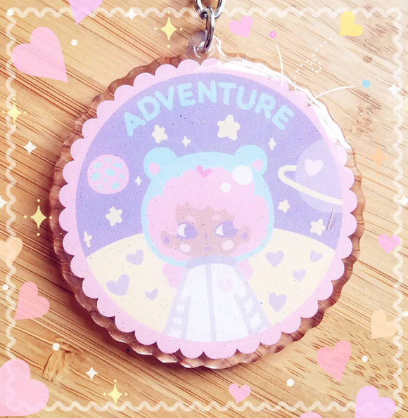 ADVENTURE Space Brat Kawaii Acrylic Charm - Uchuu-kei fashion accessory