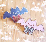 Pastel Bat Pin - Yumekawaii Enamel Pin
