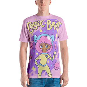 Cosmic Brat Kawaii T-shirt - Uchuu kei Space Shirt All-Over Print