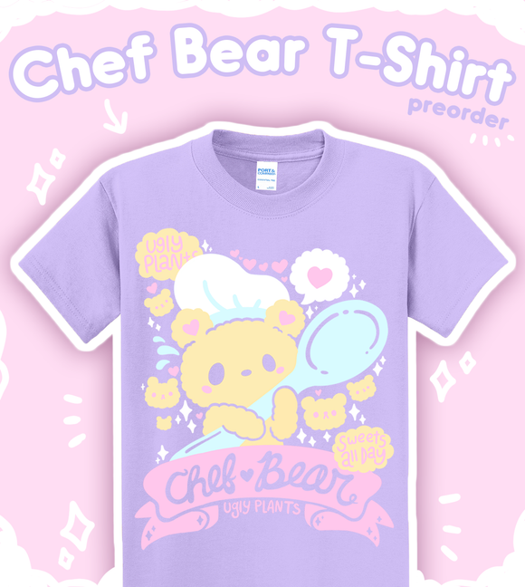 Chef Bear Pastel T-Shirt