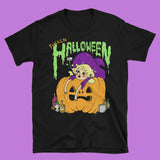 LIMITED F*cken Halloween Witch T-Shirt - Drunk Halloween Jack-O-Lantern shirt