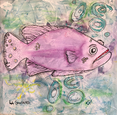 Purple Grouper