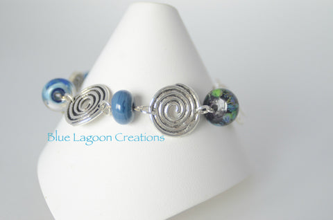 Beaded Swirl Bracelet