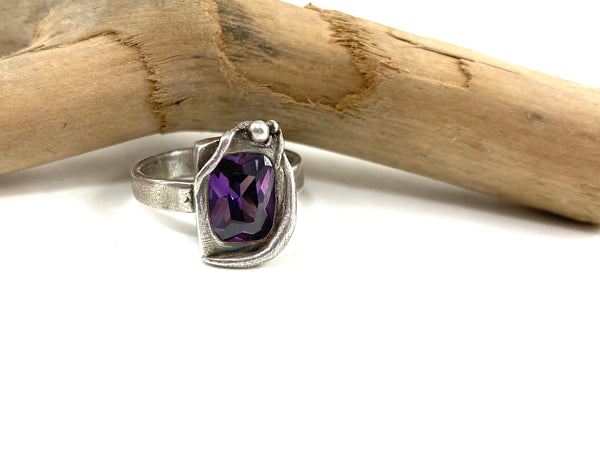 Purple Sea Grass Ring