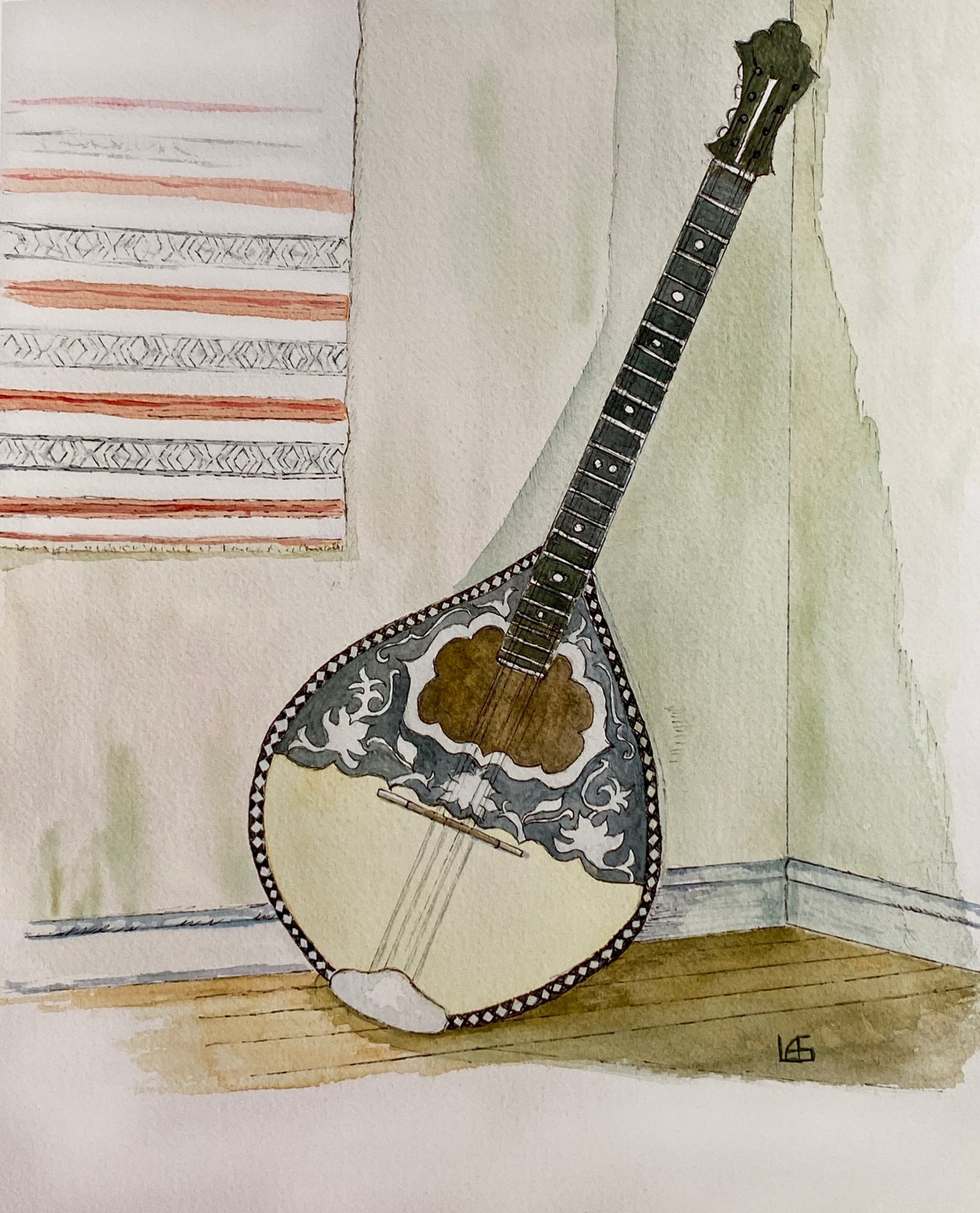 Bouzouki in the Parlor