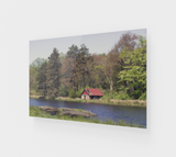 Pond and Shed ACRYLITE® Print
