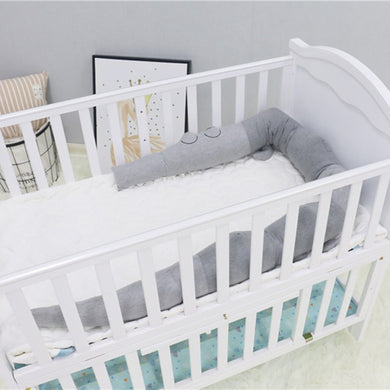 Bumpers Baby Bedding Baby Bed Bumper Ins Cot Bumper Baby Crib Protector Infant Cushion Pillow Rabbit Ear Shaped Print Crib Bumper For Baby Newborn