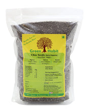 Load image into Gallery viewer, Green Habit Black Chia Seeds Salvia Hispanica (For Weight Loss)