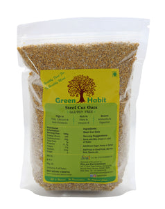 Green Habit Gluten Free Steel-Cut Oats