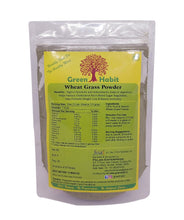 Load image into Gallery viewer, Green Habit Organic Gulten-free Wheat Grass Powder