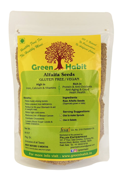 Green Habit Healthy & Nutritious Alfalfa Seeds